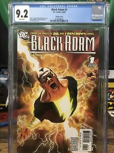 Black Adam 1 Alex Ross Variant Cgc 9.2 $175.00