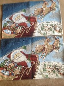 2 piece Table Placemat Set Holiday Set
