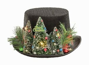 Victorian Trading Co Scrooge#x27;s Change Of Heart Christmas Top Hat $49.95