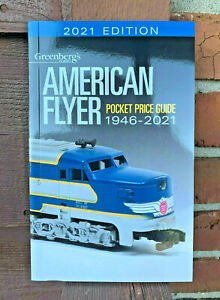 2021 AMERICAN FLYER PRICE GUIDE LATEST EDITION GREENBERG#x27;S ..$15.99 EACH . F6 $11.99