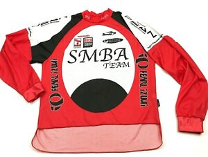 Pearl Izumi Bike Jersey Size Size Sm S Red Dry Fit Shirt Long Sleeve Lightweight $28.77