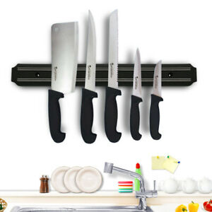 "21.6 "" Wall Mount Magnetic Knife Scissor Storage Holder Rack Strip Kitchen Tool"