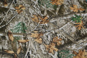 Real Tree CAMO Camouflage Fabric 1 4 yard FAT QUARTER 18quot; x 22quot; COTTON Hunting