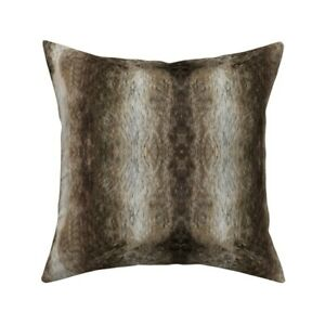 Chinchilla Chinchilla Animal Throw Pillow Cover w Optional Insert by Roostery