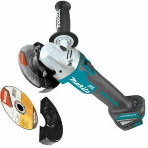 Makita XAG04Z 18V LXT Lithium Ion Brushless Cordless 4 1 2 5 in. Cut Off Grinder
