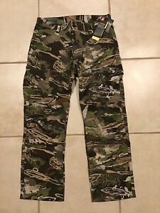 Under Armour Storm Field Ops Hunting Pants Forest Camo 1313212 940 Mens 32x30