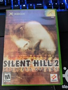 Silent Hill 2: Restless Dreams Xbox GAME AND CASE VERY NICE DISC