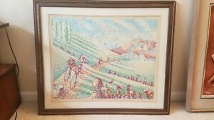 VINTAGE SERIGRAPH SIGNED NUMBERED TOM GIACALONE BICYCLES ARTWORK ART W COA $129.99