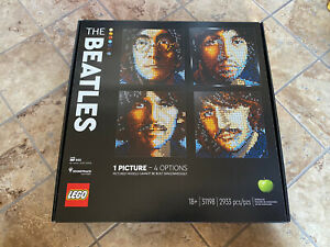 LEGO Art The Beatles 31198 ON HAND EXCLUSIVE BRAND NEW Lot of 4 $125.00
