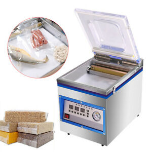 Digital Automatic Vacuum Packing Sealing Machine Table Top Chamber Vacuum Sealer $405.00