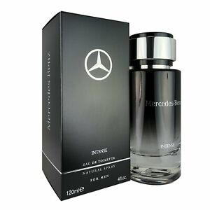 Mercedes Benz Intense Eau de Toilette Cologne for Men 4 Oz 120 ML Full Size $35.50
