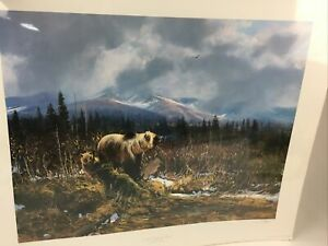 Michael Coleman On the Halfway River Art Print Limited Edition Signed COA