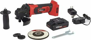 HYPER Tough 2902.4 20 Volt Max Lithium ion Cordless portable Angle Grinder 4.5quot; $53.99