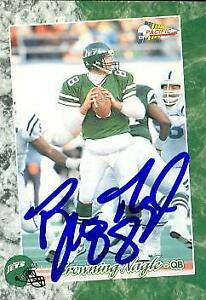 Browning Nagle autographed Football Card New York Jets 1993 Pacific #242 $14.00