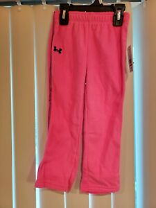 Pink Under Armour Cold Gear Polar Fleece Pant Toddler Girl MSRP $29.99 $12.99