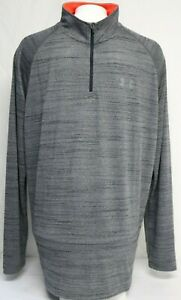 *NEW* Under Armour Mens UA Tech 1 4 Zip Pull Over Long Sleeve Shirt 1242220 $24.61