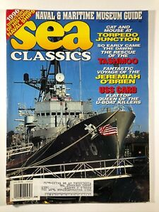 Sea Classics Magazine January 1996 WWII D Day Liberty Ship UBoats Titanic Museum