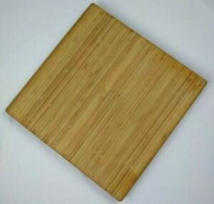 Wood Bamboo Square Cutting Board 14quot; X 14quot; $31.50