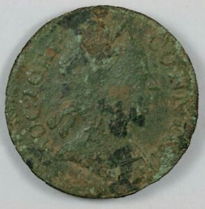 1785 Connecticut Mailed Bust Right Colonial Copper Coin Miller 6.4 I R.2 $60.00