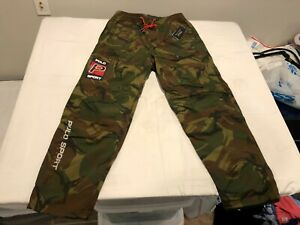 NWT $188.00 Polo Sport Ralph Lauren Mens Sportsman Camouflage Pants Size SMALL