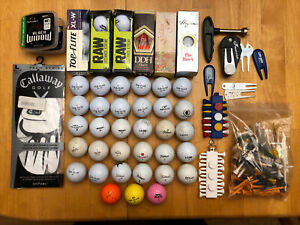 Golf Ball Estate LotMisc Brands Top Flight XL W 50 BallsSome NewAccessories