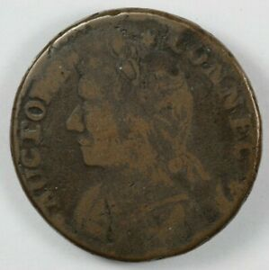1788 Connecticut Mailed Bust Left Colonial Copper Coin Miller 12.1 F.1 R.5 $150.00