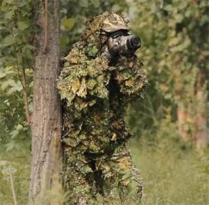 Hunting clothes Ghillie Suits sniper birdwatch airsoft Camouflage Clothing