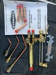 UNIWELD Torch Set cutting and welding $199.00