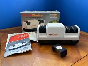 Chef#x27;s Choice Model Professional 100 3 Stage Diamond Hone Knife Sharpener