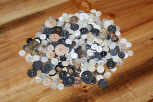 LOT Random Plastic Buttons NEW Crafting Scrapbooking Sewing Kids Craft Supplies $8.54
