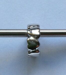 GENUINE STORY STERLING SILVER CHARM GBP 6.00