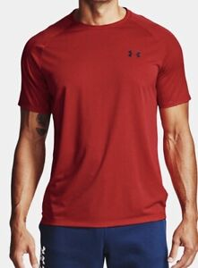 Mens Under Armour Tech 2.0 Short Sleeve T Shirt.Red $16.00
