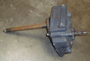 Kubota M108 Rear PTO Gearbox Assembly w Upper Lower Shafts Used $1250.00