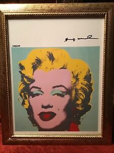 Andy Warhol Original Lithograph 1962 Hand Signed with COA 49 200 $295.49