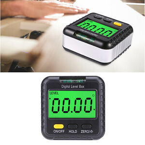 Digital Gauge Angle Protractor Level Inclinometer with Level Bubble C $21.63