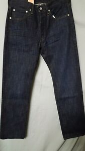 LEVIS Men#x27;s Blue Jean 501 Straight Button Fly ACTUAL 32quot; X 32 1 2 Tag 31 x 32