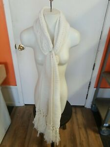 Merona Womens Infinity Sour Cream Scarf One Size Knitted $12.99