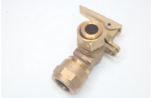 Pack of 1 Cambridge Brass Angle Meter Valve 1quot; cb x 3 4quot; 210NL H4T3H $18.42
