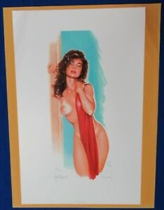 Scorcher Lithograph Signed amp; Numbered by Dave Stevens and Jewel Shepard F $500.00