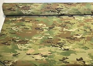 Multicam Ripstop Ny Co Fabric Uniform Military Camouflage By The Yard 66quot; Wide