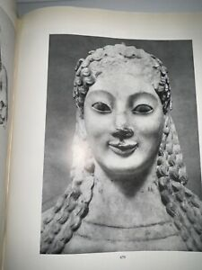 ARCHAIC MARBLE SCULPTURES FROM THE ACROPOLIS PHOTOGRAPHIC CATALOGUE H Payne '50 $16.50