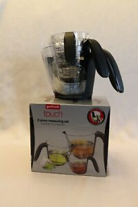 Good Cook Touch 3 Piece Angled Measuring Cup Set 3 Sizes NIB $24.99