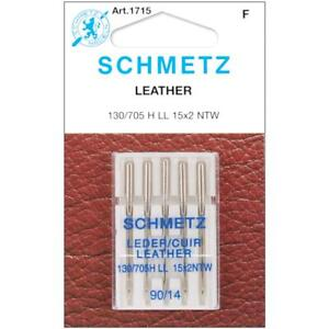 Sewing Machine Needles Schmetz Leather Choose Your Size 1 Pack of 5 $8.74
