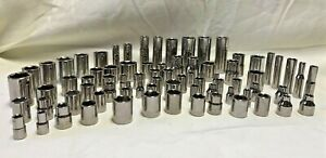 Craftsman Socket Lot of 77 Assorted Made in U.S.A $49.99
