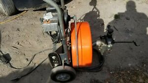 General Pipe Cleaners Speedrooter 90 1 2 HP Large Line Drain Cleaner $900.00