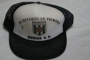 Cap Of Football of The Antique Kit Gone Merida C. P. We#x27;Ll Be On Primera $21.60