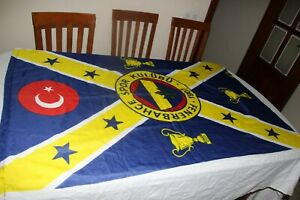 Flag Antique of The Kit Turkish Fenerbahce Time The: European Cup Winners $33.16