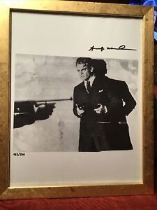 Andy Warhol 1986 Original Lithograph Hand Signed with COA New Frame $264.75