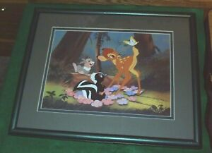 15 in. x 12 in. Matted amp; Framed 1997 BAMBI Exclusive Commemorative Lithograph $22.99