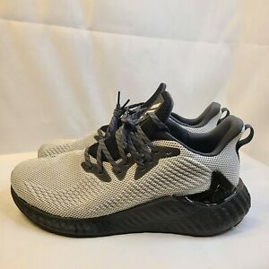 Adidas Alphaboost Boost Running Shoes FW4548 White Black Mens Size 13 $44.99